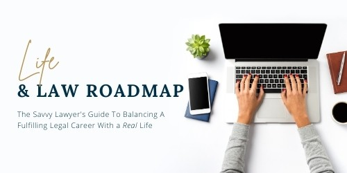 Life and Law Roadmap Image Blue White