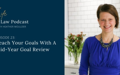#23: Reach Your Goals (Mid-Year Goal Review)