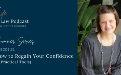 #26 How To Regain Your Confidence (3 Practical Tools)