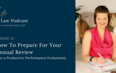 #32 How To Prepare For Your Annual Review